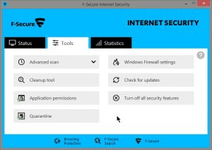 F-Secure Internet Security 17.6 Crack + Serial Key Free Download 2020