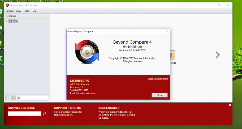 Beyond Compare 4.3.4 Build 24657 Crack + License Key Free