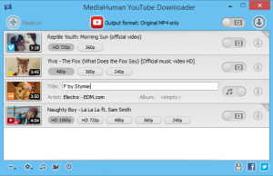 It is possible to configure the program to include downloaded tracks mechanically. At any time you copy the URL to the clipboard of any movie, it is going to monitor the content of this program clipboard and will soon be added into the download queue quite efficiently. It provides zero-quality reduction after conversion using blazing fast speed. Overall, MediaHuman YouTube into MP3 Converter is the ideal program for converting YouTube videos to MP3 really readily. You're able to quickly catch all of your favourite tunes from YouTube into MP3, M4A or OGG format, which means that you may listen to audio whenever in your PC irrespective of your Internet Connection.