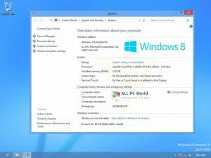 Windows 8 Enterprise Crack With Serial Key Free Download