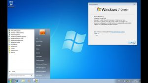 Windows 7 Starter Crack With Serial Key Free Download