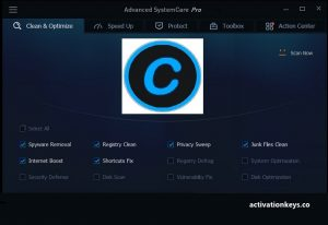 Advanced SystemCare Free 13.5.0.270 Key Crack 2020 Serial Key Free Download