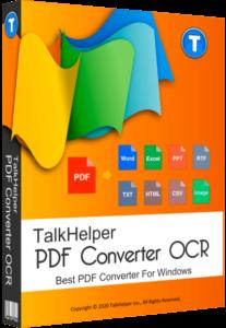 TalkHelper PDF Converter 6.1.0.12 Crack With Serial Key 2020 Download