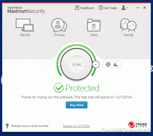 Trend Micro Maximum Security With Feature Keys Full Version Free Download