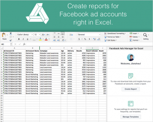 Excel AddIn For Facebook With Serial Key Full Free Download