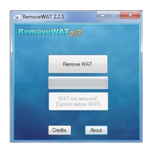 RemoveWAT 2.2.9 Crack With Licence Key Free Download