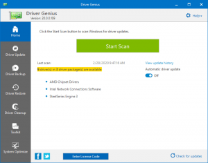 Driver Genius 20.0.0.139 Crack Key With Product Key Free Download